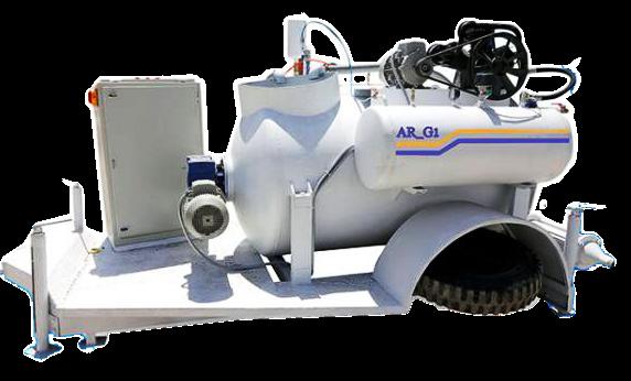 دستگاه فوم بتن سه فاز AR-G1