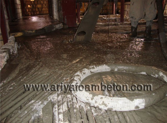 استفاده از فوم بتن در ساختمان مانع از یخزدگی لولهها میشود