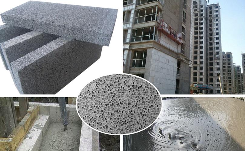فوم بتن وکاربردآن را در ساختمان چیست؟